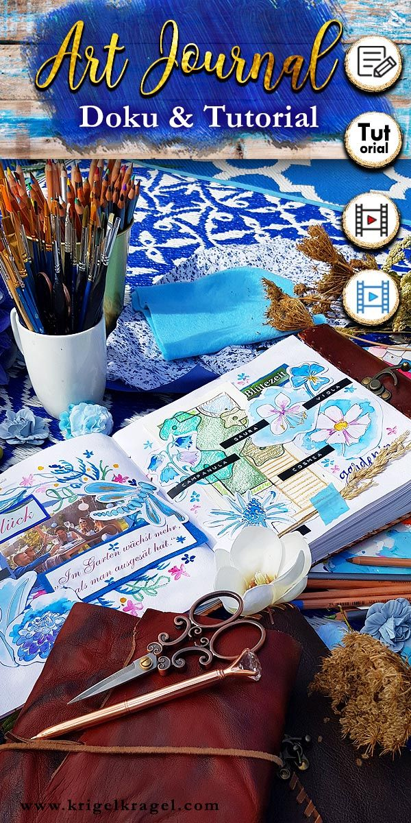 Was ist ein Art Journal? Oder: kann man ein Tagebuch auch malen
