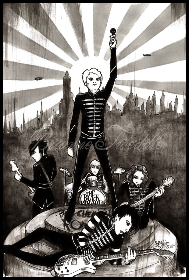 Welcome To The Black Parade My Chemical Romance Helena My Chemical Romance Disney Fan Art