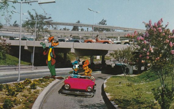 Early Disneyland Tomorrowland Autopia E-4  by StuckyEstateSale
