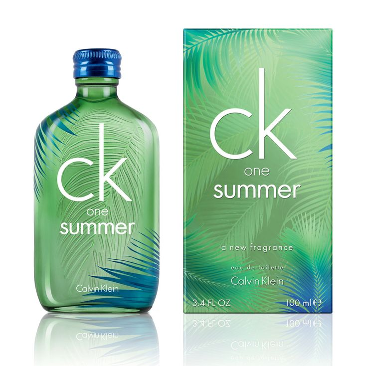 CK One Summer 2016 Calvin Klein for women and men Pictures