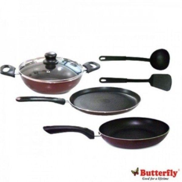 Butterfly Kroma Kcp6 Set Non Stick Cookware Cookware