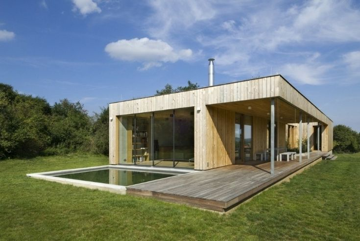 Modern Weekend House in Bus, Czech Republic