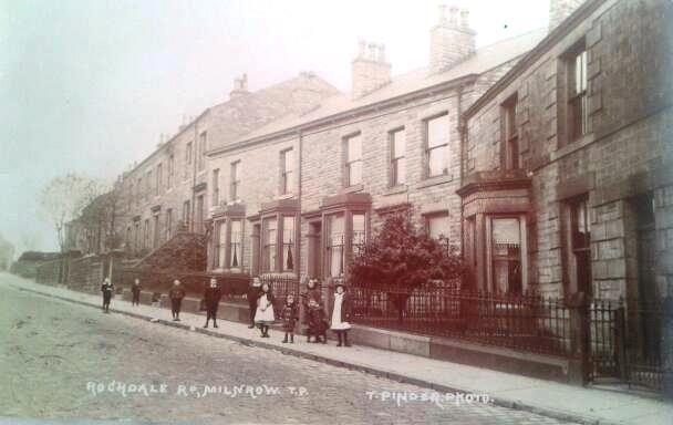 Rochdale Road (near the lights).