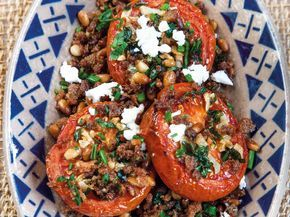 Tonia Buxton's slow-roasted tomato salad