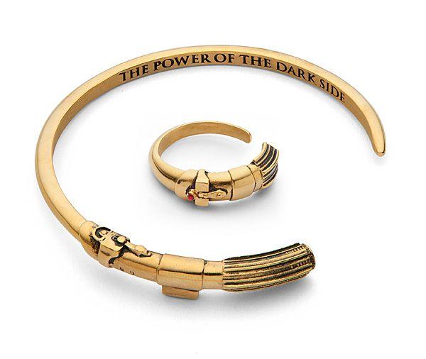 Vader Saber Bracelet & Ring - Exclusive