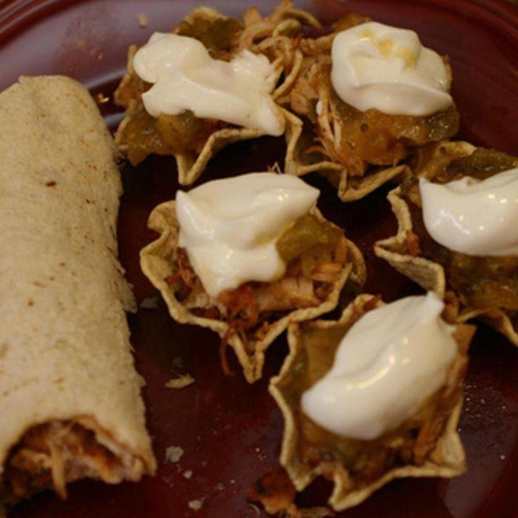 Smoky Chicken Tacos/Scoops