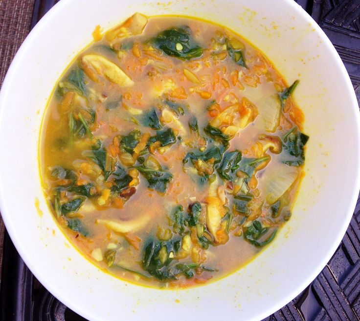 Easy Recipe: Gut Healing Immune Soup (leave out onion & garlic to make this low FODMAP