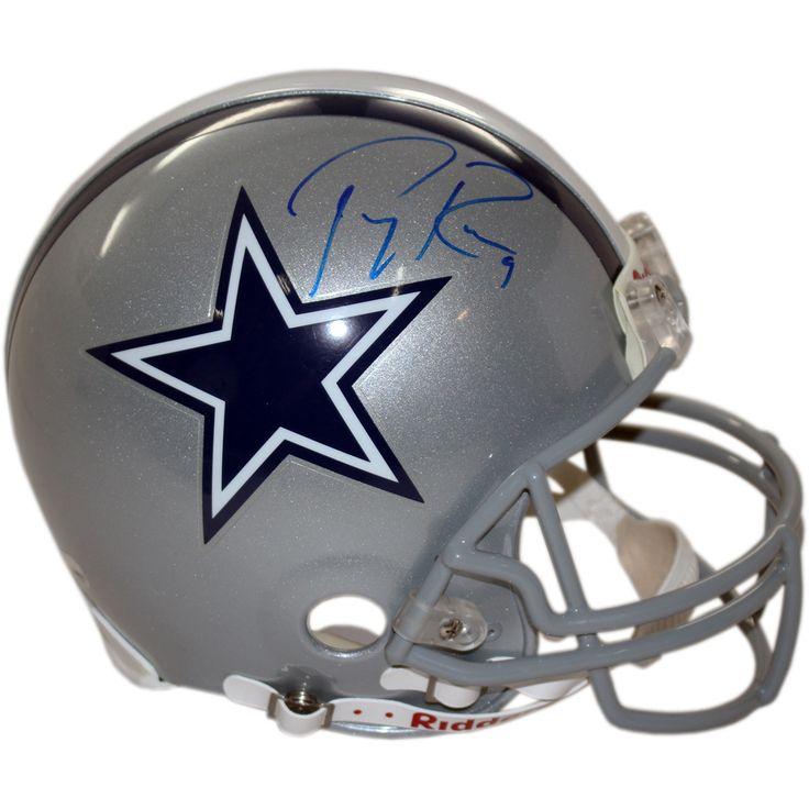 Tony Romo Cowboys Authentic Full-Size Helmet (Fanatics Auth)