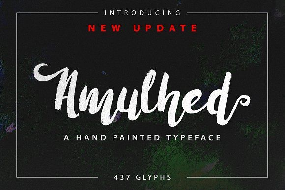 Amulhed Brush by Barland on @creativemarket