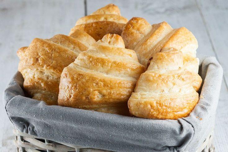 Zelfgemaakte croissants