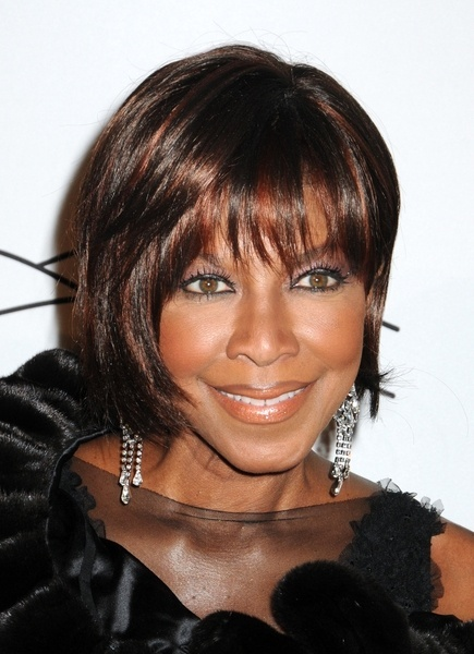 Natalie Coles chic, bob hairstyle