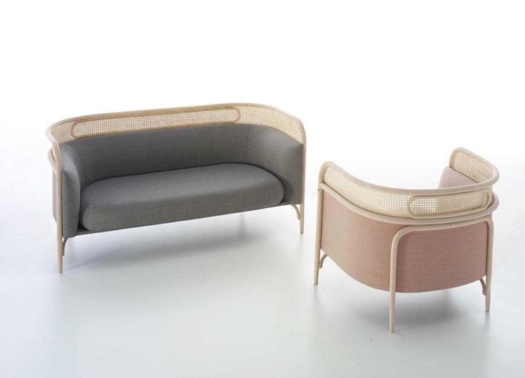 gamfratesi | targa sofa and lounge chair | thonet