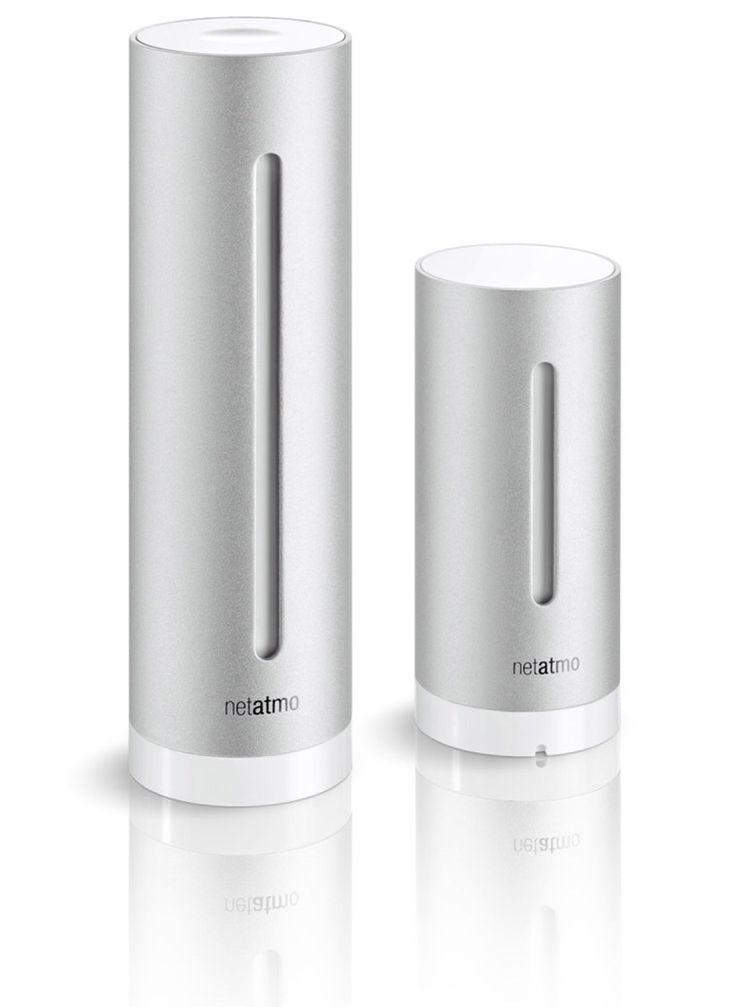 netatmo personal weather station and air quality monitor @designboom.com