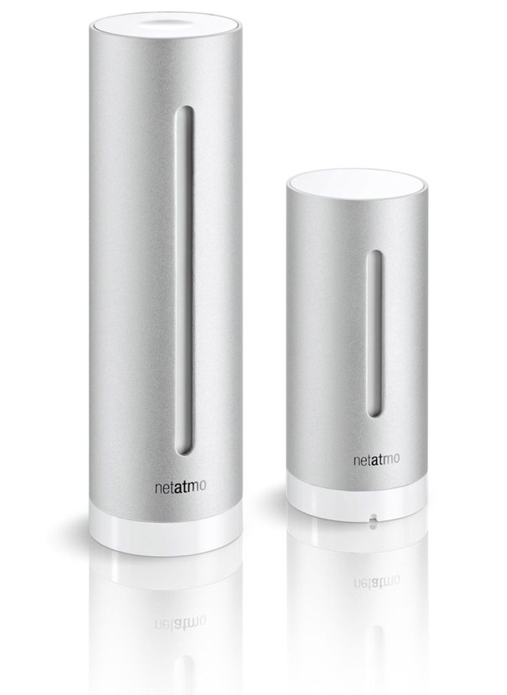 netatmo personal weather station and air quality monitor @designboom.com