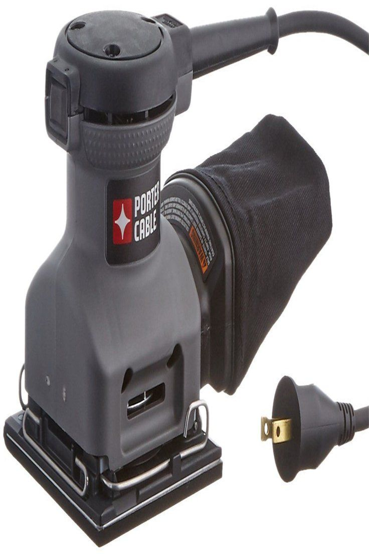 Details About Porter Cable 380 1 4 Sheet Orbital Finish Palm Sander Porter Cable Finishing Sander Sanders