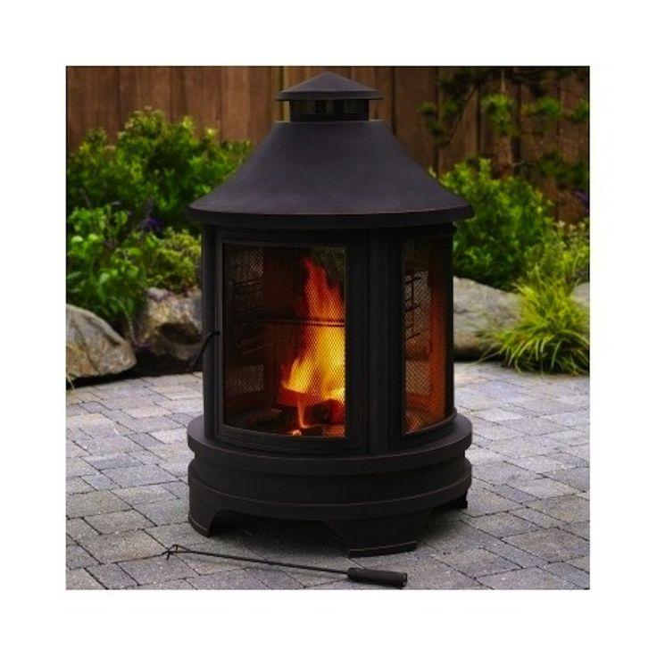 #1 Garden Fire Pit Logs In A Modern Outdoor Firepit