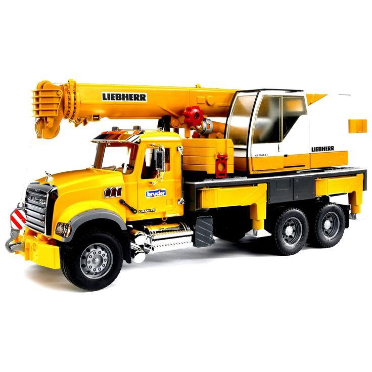 Bruder Toys Mack Granite Liebherr Crane Truck 02818 by Bruder Toys America Inc.  for $69.98 in Super Saturday Sale : Rural King