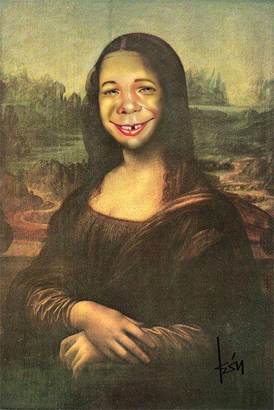 Mona Lisa: Alfred E. Newman, MAD Magazine