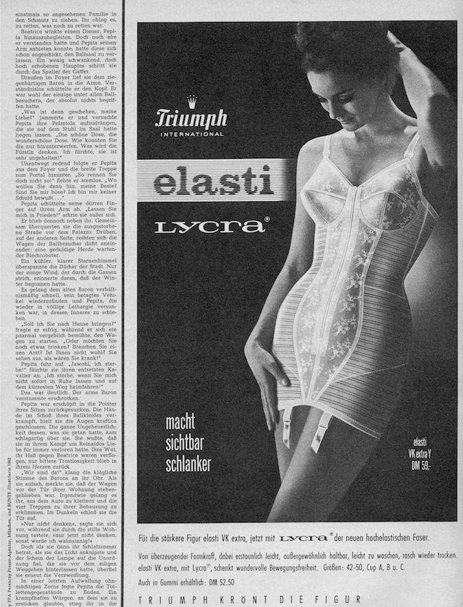 Did you know we still use Lycra elastic in our #lingerie today! #Triumph