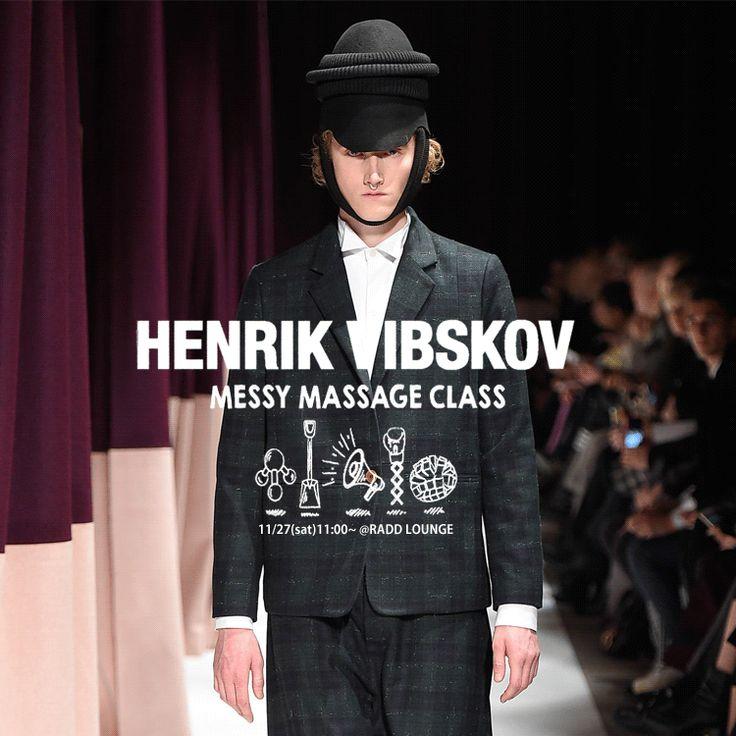 【 New Arrival 】Henrik Vibskov『The Messy Massage Class』collection. http://blog.raddlounge.com/?p=41939 #StreetSnap #Style #RaddLounge #WishList #Deginer #StyleCheck #Kawaii #FashionBlogger #Fashion #Shopping #UnisexWear #WomansWear #aw15 #HenrikVibskov