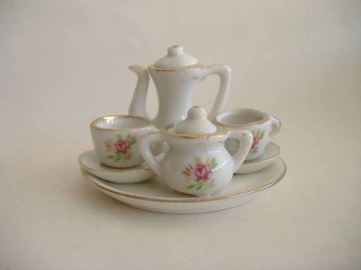 154 Best Mini Tea Sets Images On Pinterest Tea Sets