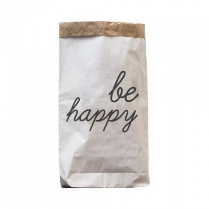 Paperbag be happy