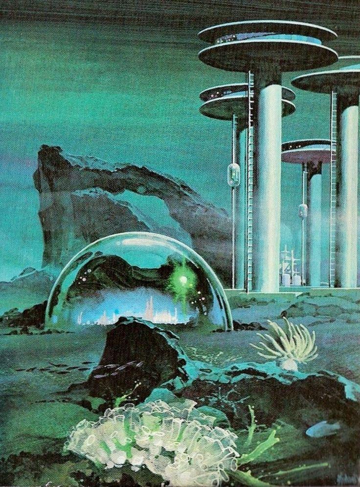 sciencefictiongallery: Undersea City by Frederik... - logangaiarpg