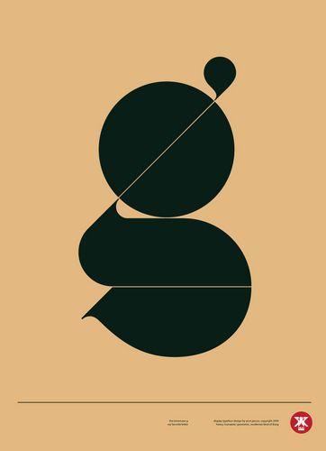 Lowercase 'g' #typography #illustration #design