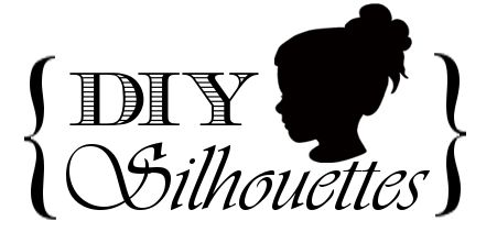 Step-by-step on how to make silhouettes
