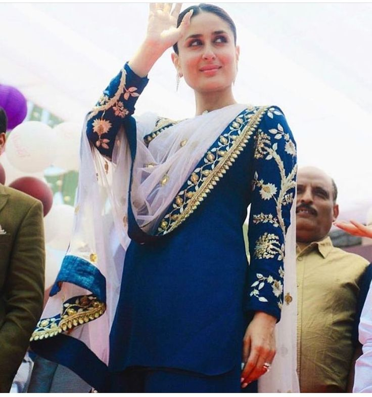 Kareena Kapoor # suit # Indian wear # hand crafted