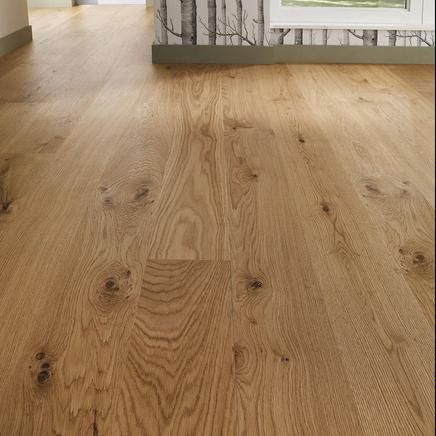 This Elegant Pre Finished Real Wood Oak Engineered Flooring Adds Warmth And  Character To Any Room In The Home.