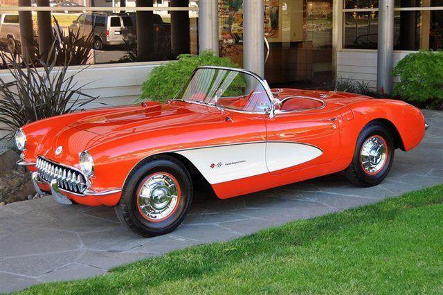 corvette 1954 red - Szukaj w Google