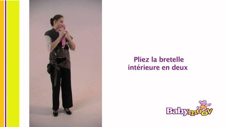 Notice d'utilisation des différentes techniques de portage Babymoov vous explique dans cette vidéo avec l'aide d'une maman formatrice en écharpe de portage c...