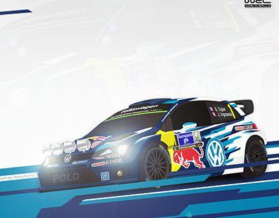 "Check out new work on my @Behance portfolio: ""Volkswagen Motorsport 2015"" http://on.be.net/1XqVXdD"