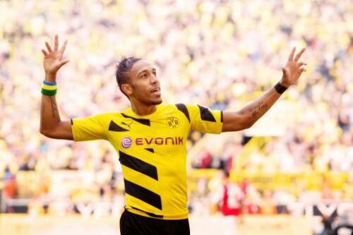Auba can't stop for running #BVB
