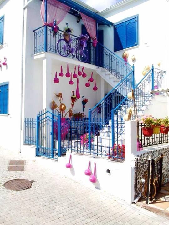 Colorful architecture ~ Thassos