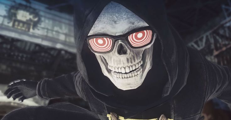 Let It Die players can't get enough of Uncle Death~~~~~ This skateboarding, sunglass-wearing skeleton may be its best feature