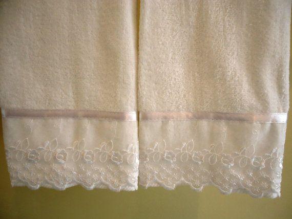 ORGANZA de encaje punta del dedo o toallas de invitados por UtaLace