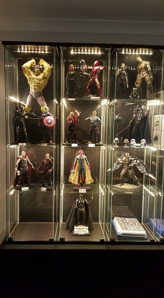 Mainly Avengers Hot Toys Action Figure Display Ideas In