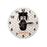 Personalized Kokeshi Doll, Wall Clocks  http://www.zazzle.com/personalized_kokeshi_doll_wall_clocks-256993349545010162