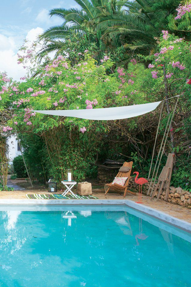 Les 25 meilleures id es de la cat gorie voile d 39 ombre sur for Alentour piscine