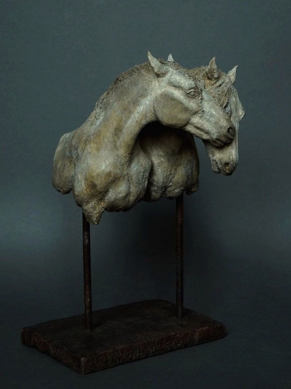 Caballero i Regal - ceramiczne konie