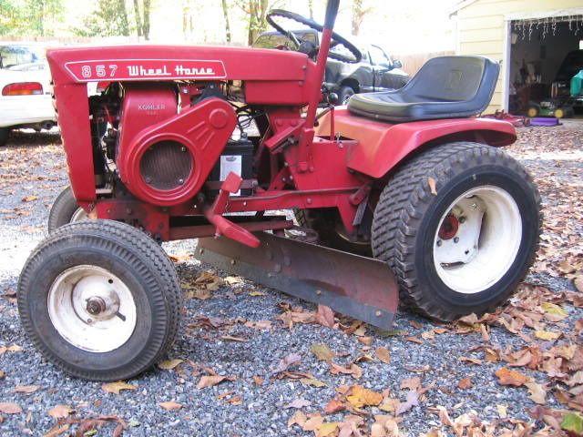 1967 857 Wheel Horse Garden Tractor Charjenpits