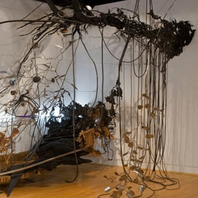 Judy Pfaff's work