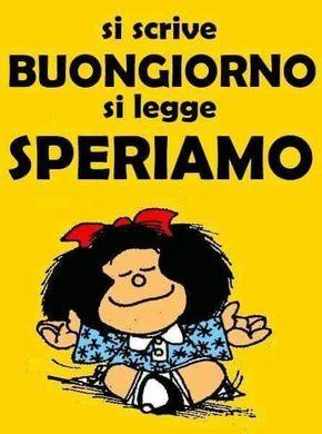 Mafalda è ottimista...o no?
