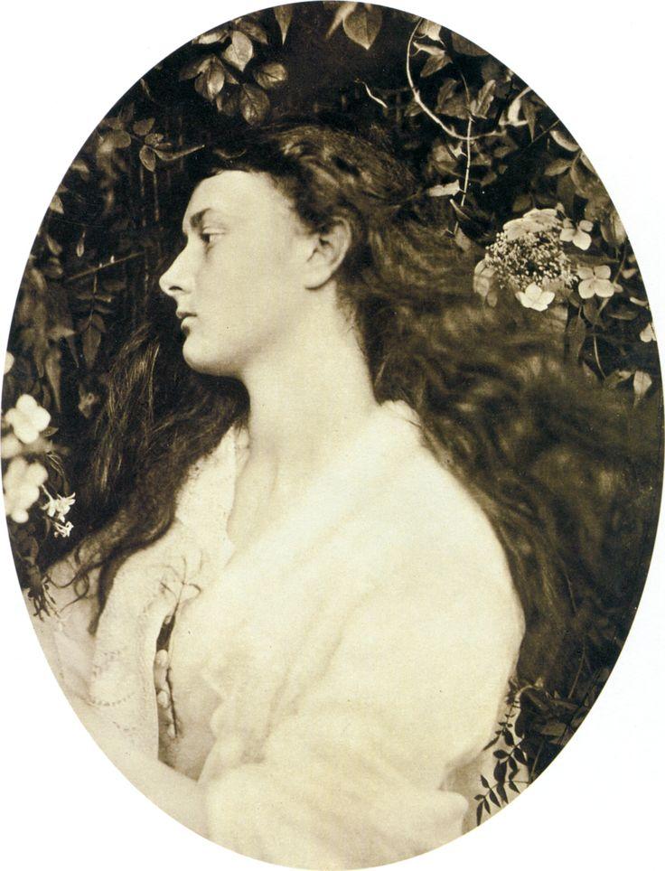 Alethea, by Julia Margaret Cameron. 1872