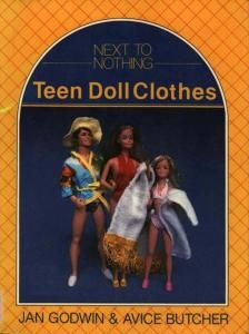 Free Copy of Pattern - Teen Doll Clothes - copy of complete book is on pages 1 thru 4 (links are just above the picture).