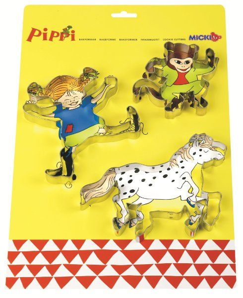 Pippi Cookie Cutters:Amazon:Toys & Games