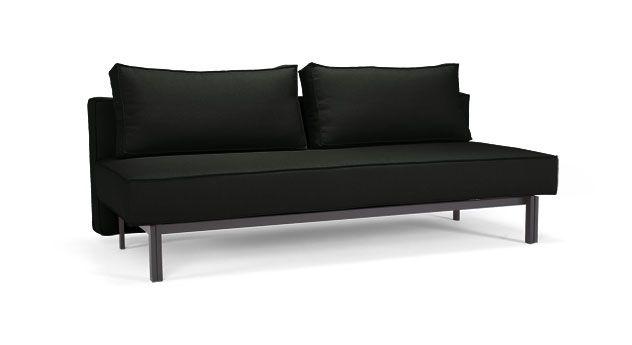 Schlafsofa mit hochwertiger Federkern-Matratze exklusiv bei | Betten.de #schlafsofa #gästebett #couch #sofa http://www.betten.de/schlafsofa-federkern-140x200-ellwood.html