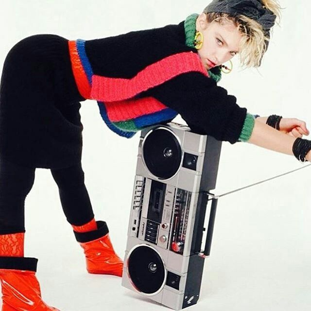 @stefanogabbana Radio mood ❤❤❤❤❤ Madonna 🎼🎼🎼🎼🎼🎼📻📻📻📻 @piermichelerosa